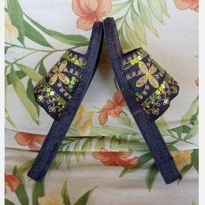 Rocket Dog Shoes - Womens size 8M Rocket dog slipon sequin shoes